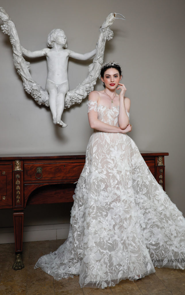 Game of Thrones Wedding Fashion - Romona Keveza Wedding Dress - Style