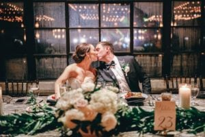 Black, White And Gold Classic Wedding At The Astorian