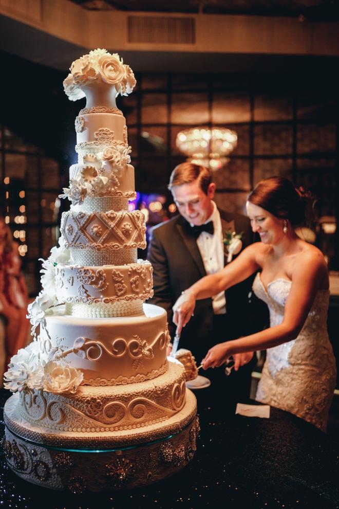 five tier wedding cake houston ama by aisha