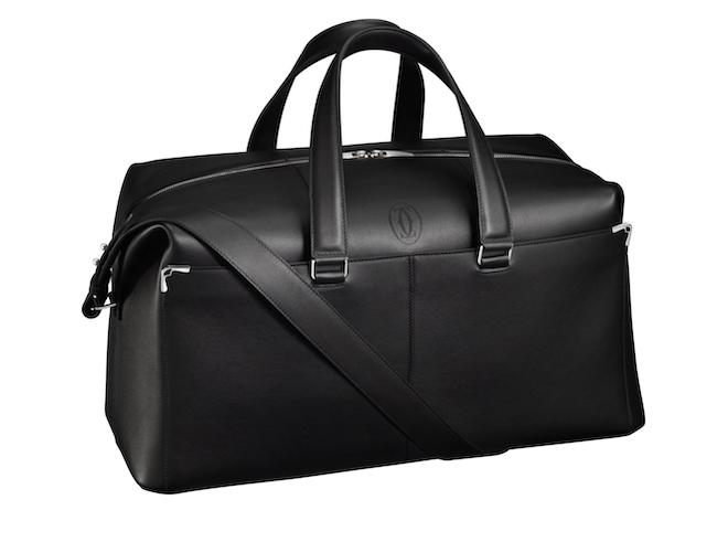 Stylish Groom Accessories - Must De Cartier, Weekend Bag