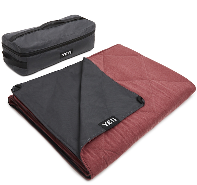 Registry Gift Ideas For Picnics Yeti Lowlands Blanket - Fire Red