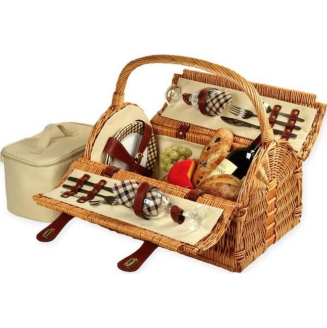 Registry Gift Ideas For Picnics Sussex Picnic Basket for Two