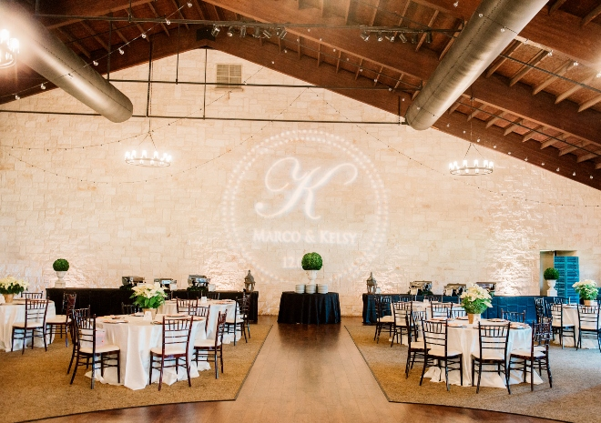 briscoe manor ballroom greenery wedding