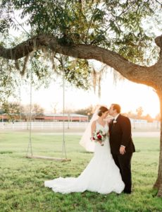 Joyful Christmastime Wedding At Briscoe Manor