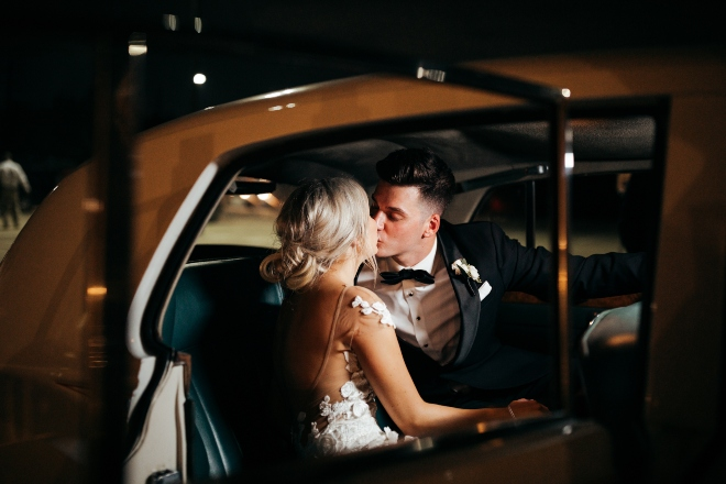 ashton gardens houston wedding exit classic limousine