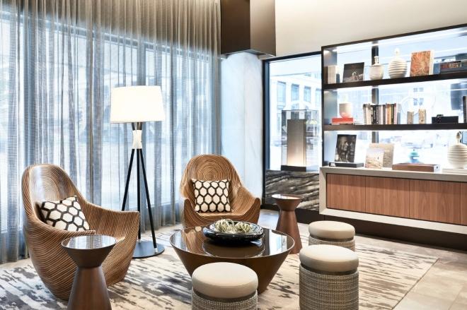 new houston hotel ac downtown european modernist