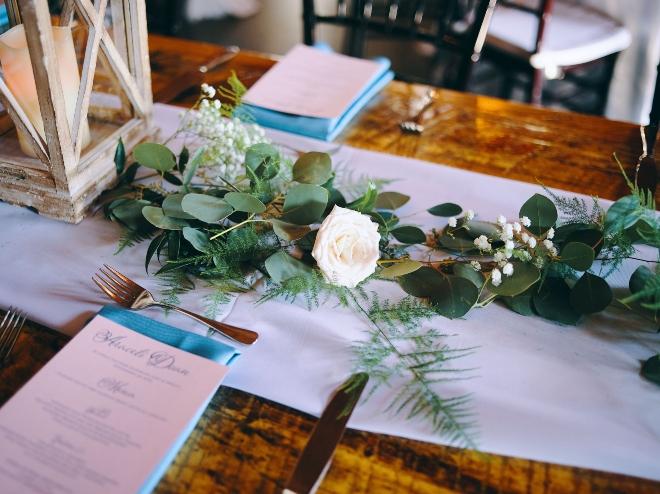 tabletop detail big sky barn wedding rustic elegant civic photos