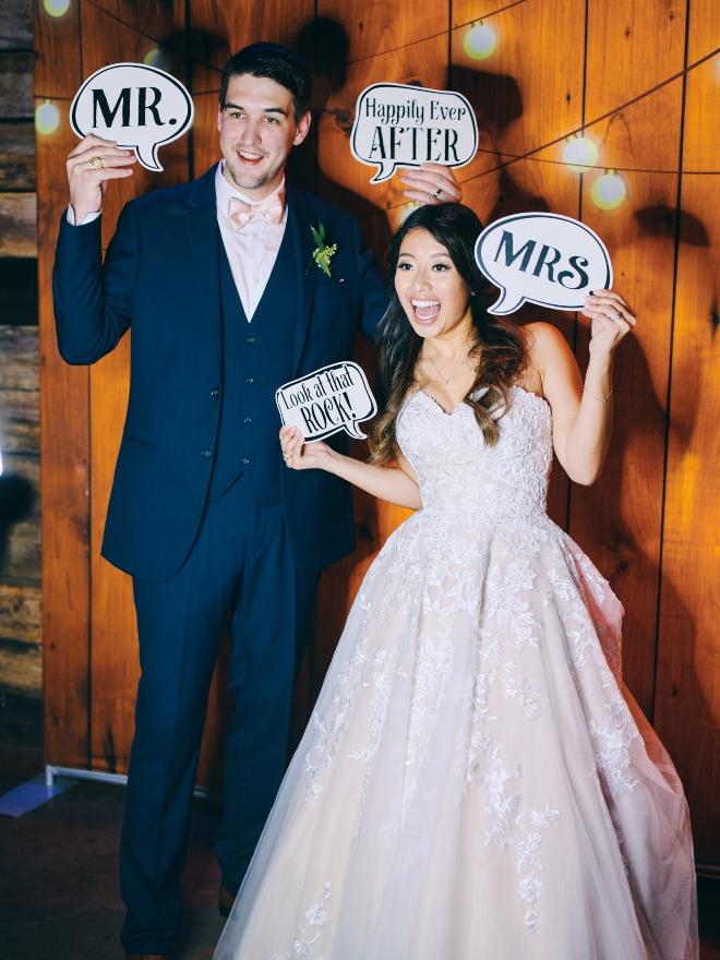 bride groom photo booth big sky barn civic photos