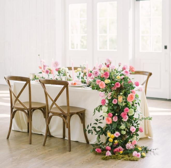 floral table runner houston photographer kate elizabeth