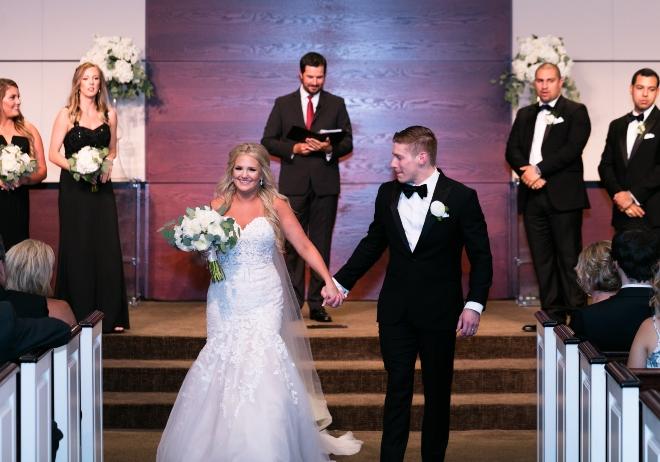 houston wedding church ceremony morgan nathan