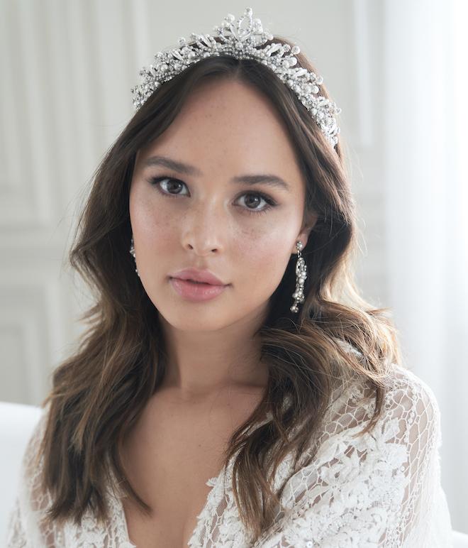 Bridal Crown - Maria Elena Headpieces