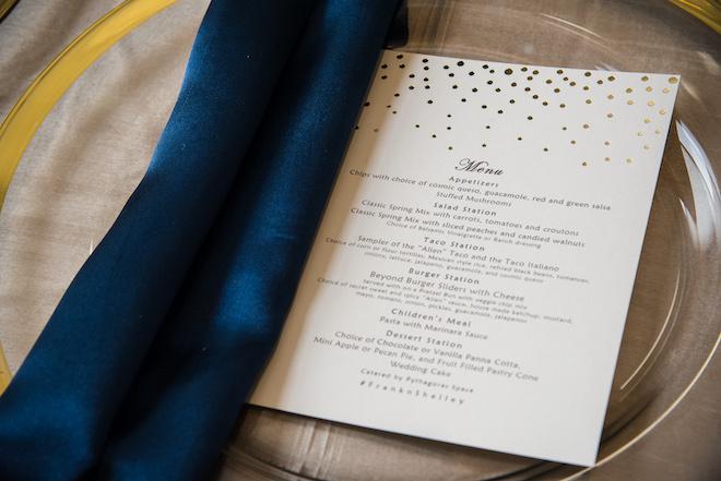 Wedding Food Ideas - Vegan Menu