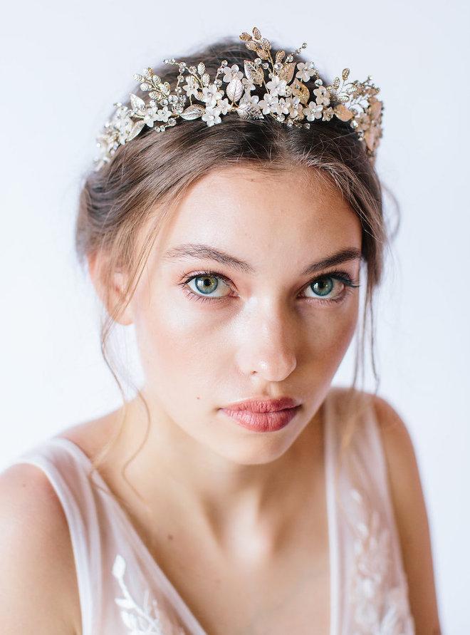 Bridal Tiara - Untamed Petals