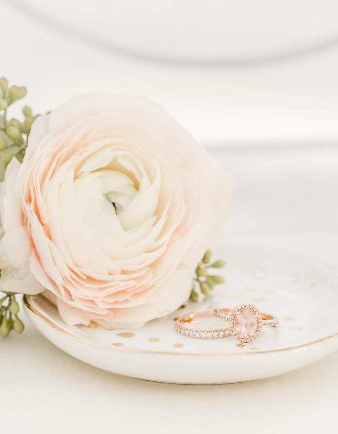 china ring dish engagement wedding band detail shot amy maddox photography houston