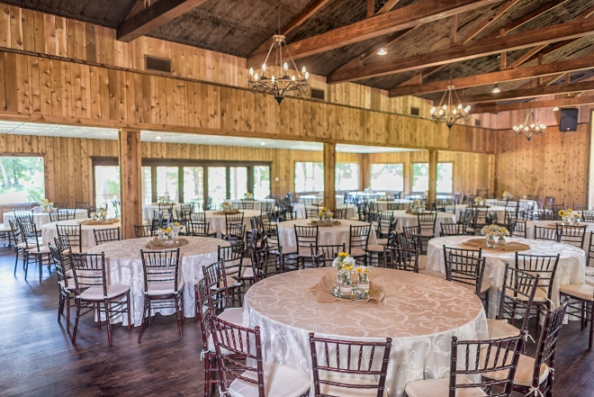 affordable barn wedding houston windows beamed ceiling chandeliers forest view shirley acres