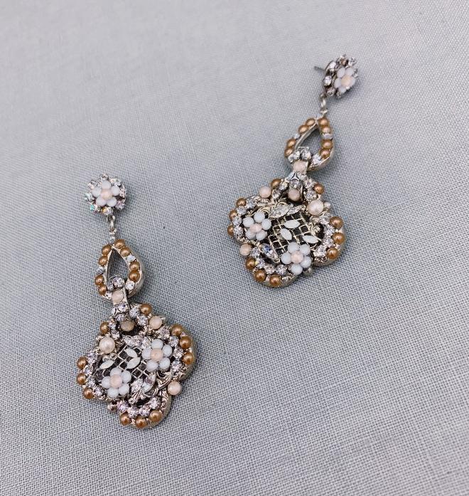 maria elena headpieces yara drop earrings i do wedding soiree 2020 prize