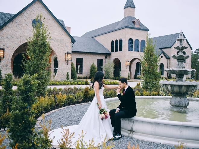 iron manor wedding venue castle chateau fairytale fountain civic photos
