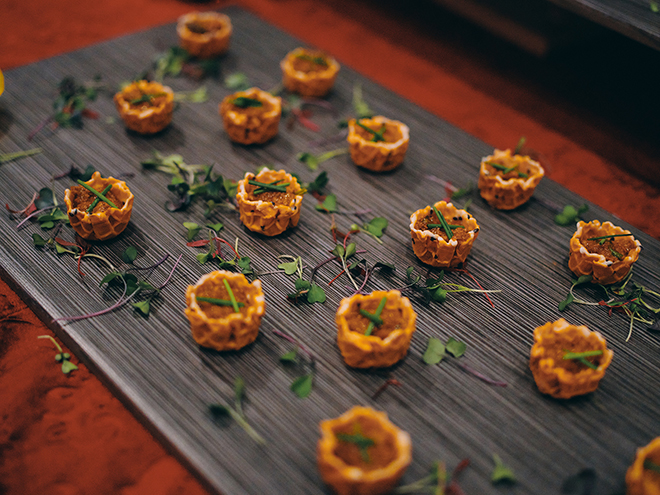 Wedding caterer, lamb, appetizers, soiree