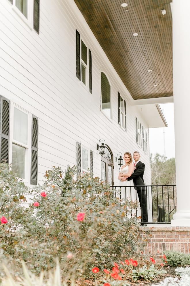 new wedding venue estates pecan park houston plantation shutters columns bricks southern charm