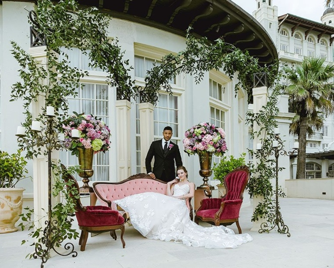Galveston wedding venue hotel galvez luxurious historic elegant destination
