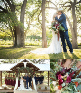 6 Barn Weddings with Rustic Chic Themes