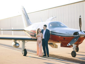 Airplane Engagement Shoot by Civic Photos