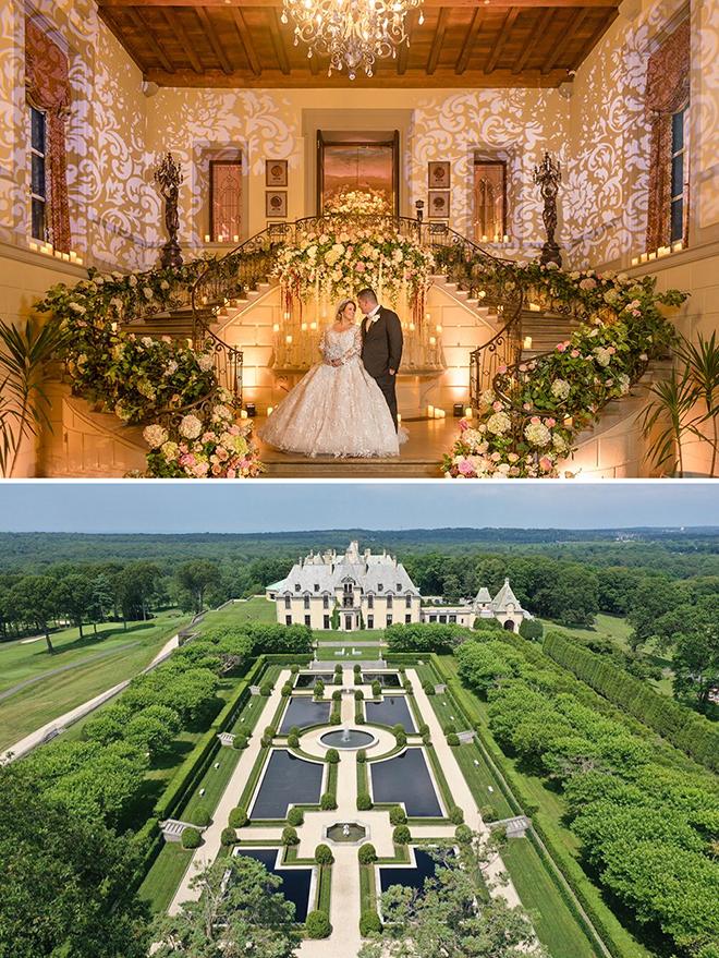 fairytale dream wedding, castle, new york