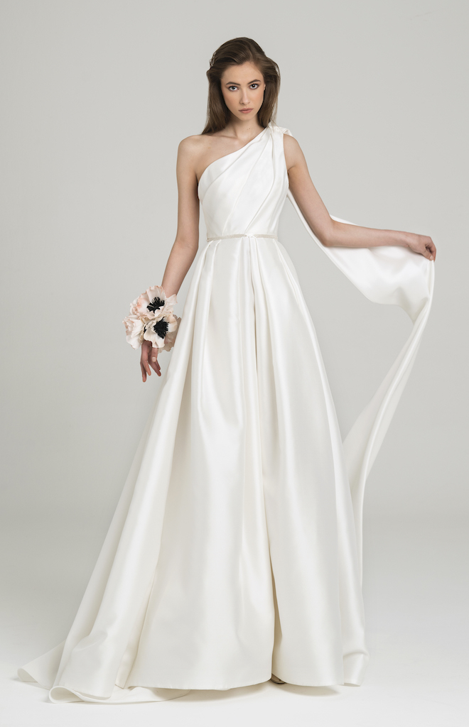 peter langner regal wedding gown