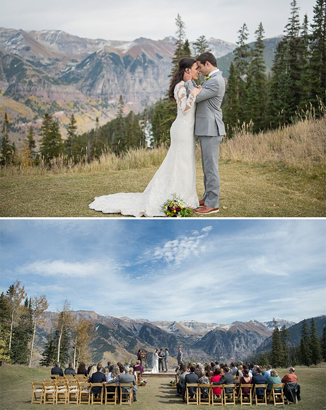 colorado wedding inspiration, destination mountains, winter wedding