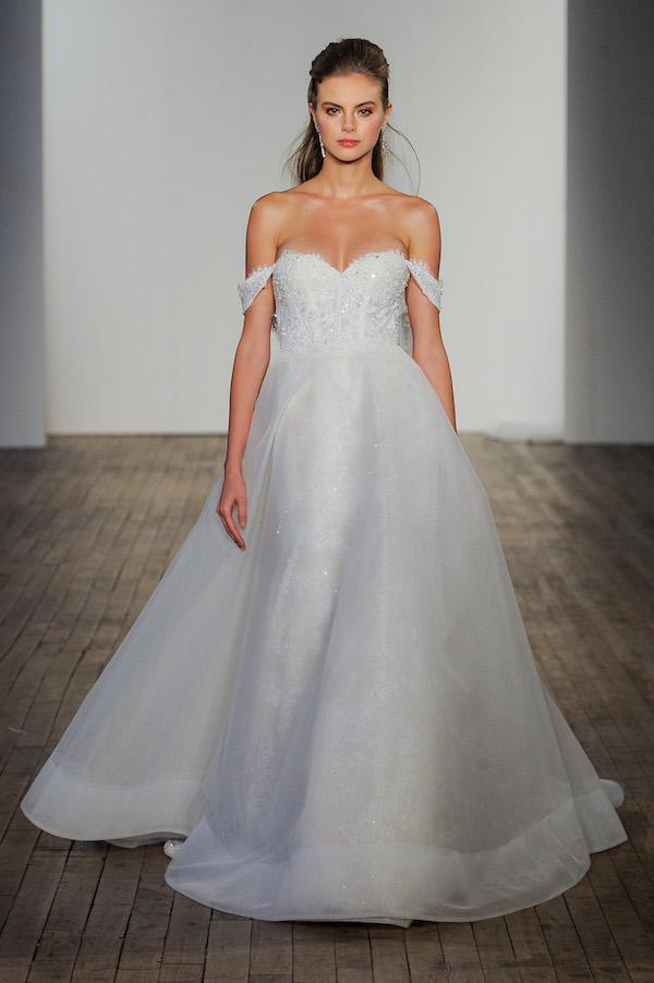 "allison webb ""Ambrose,"" romantic wedding gown"
