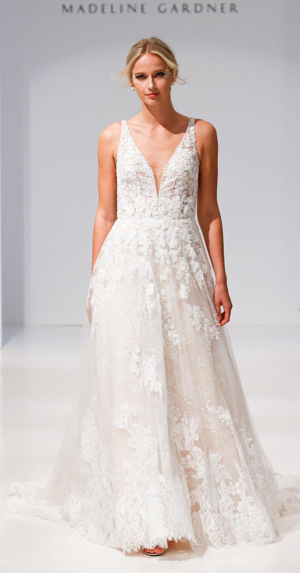 morilee by madeline gardner rustic romantic wedding gown