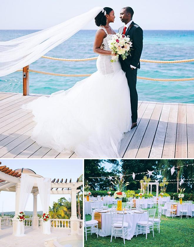 Beach Wedding - Jamaica Resort