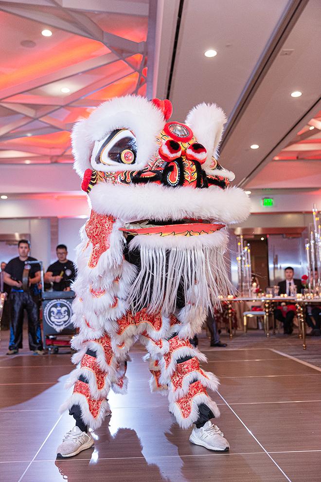 chinese wedding westin houston medical center wedding reception entertainment