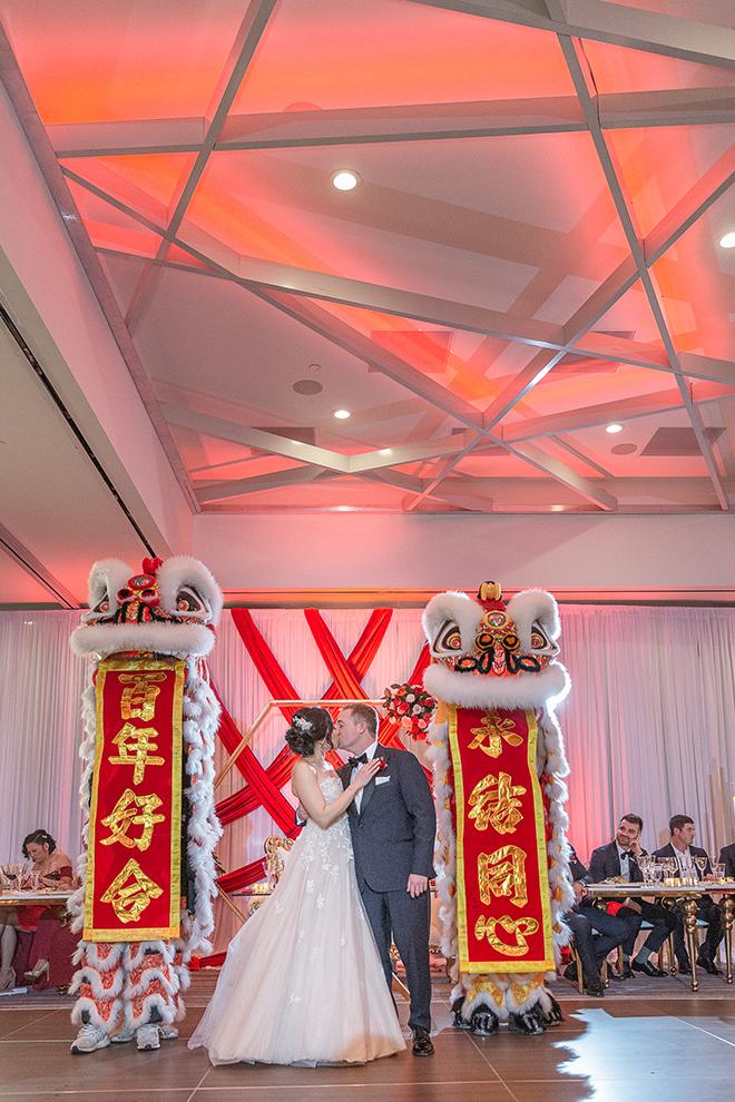 romantic valentine's day wedding westin houston medical center chinese