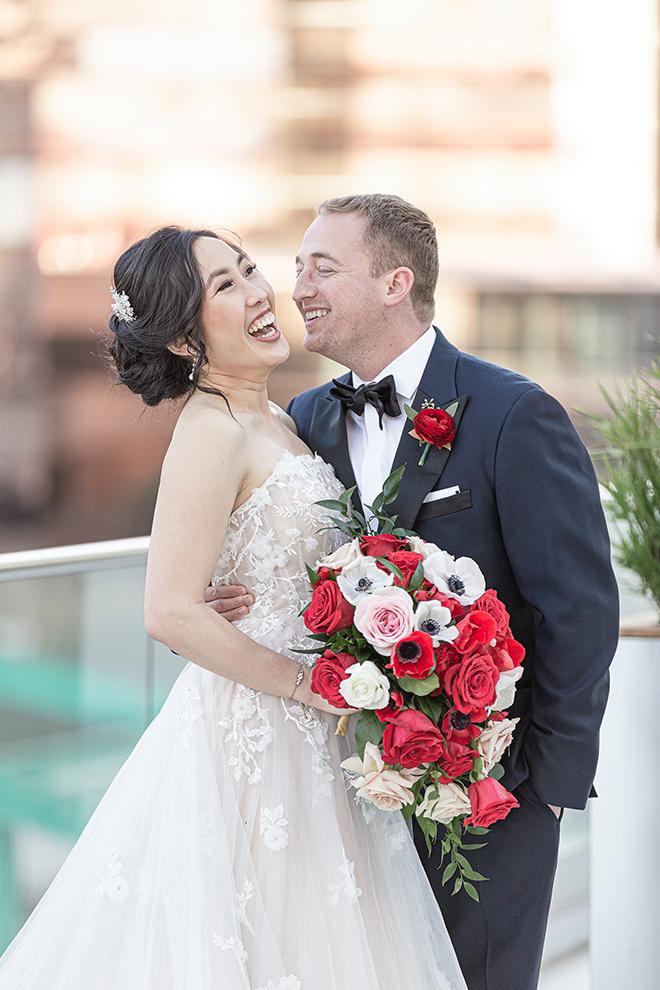 romantic valentine's day wedding westin houston medical center