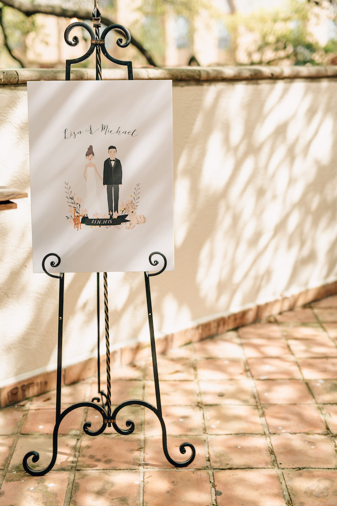 unique wedding reception ideas live painting