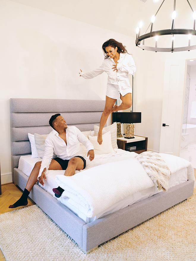 fun photo ideas, bedroom, photography houston, civic photos, romantic engagement photos, luxury home