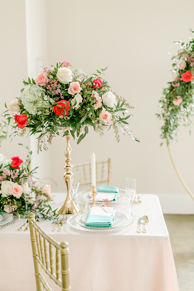 pink, aqua, vintage styled shoot, amy maddox photography, natural light, houston