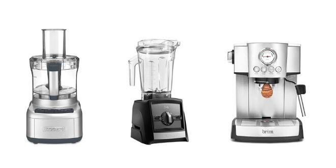 wedding registry, kitchen, bering's, williams sonoma, food processor, blender, espresso maker