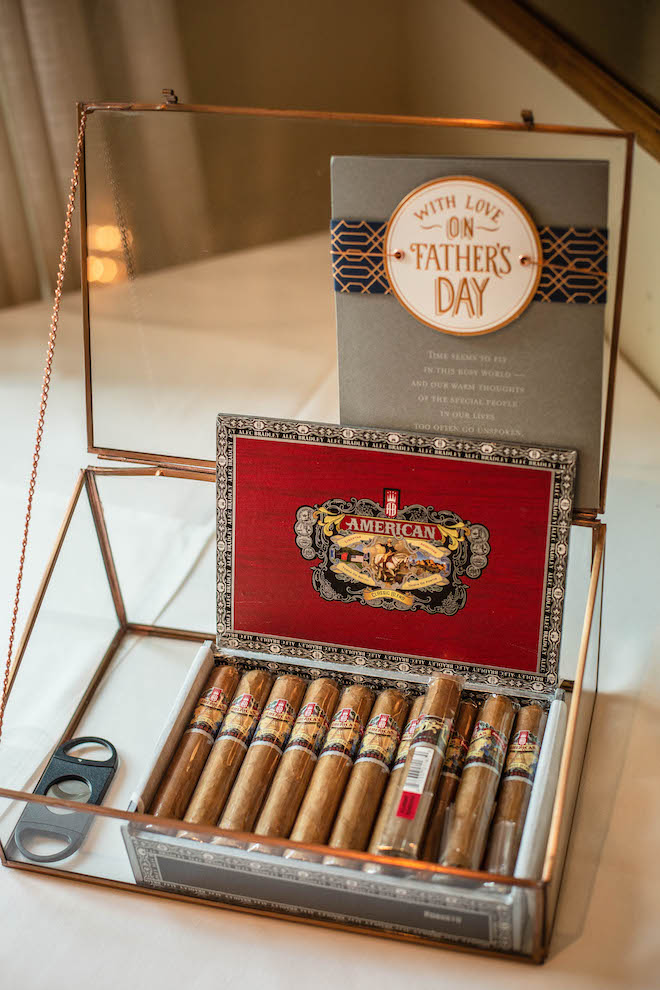 wedding favors, cigars, father's day