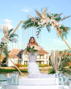 Glamorous Backyard Wedding Decor By Royal Luxury Events