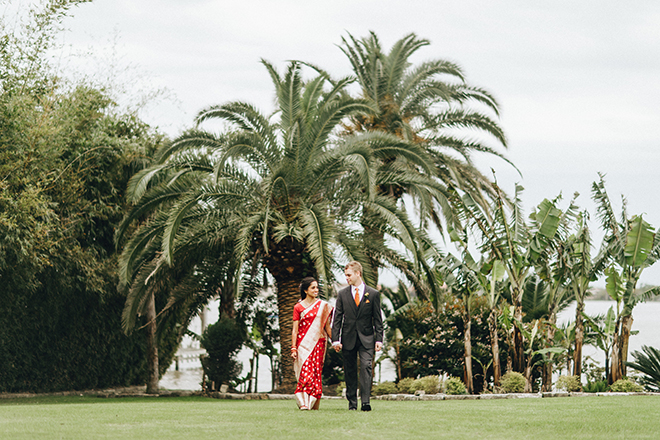 colorful, multicultural, wedding, sari, bride, groom, wedding photography