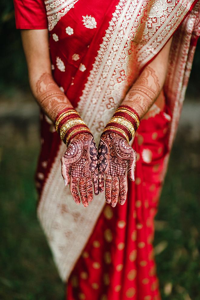 indian wedding, sari, south asian, wedding henna, design