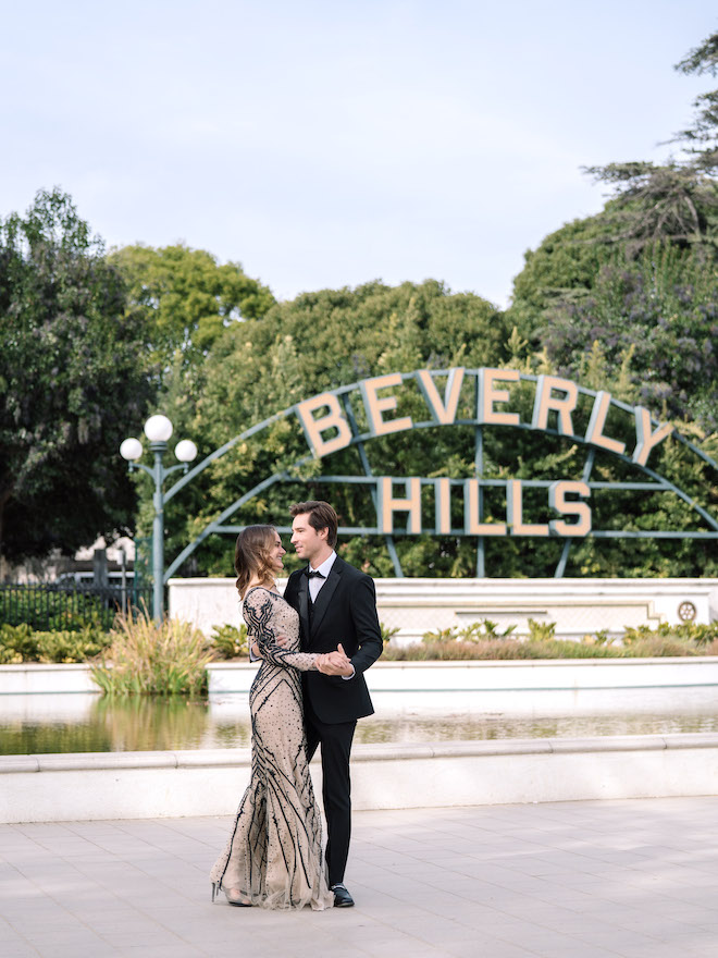 engagement editorial, Hollywood, California, engagement photography, wedding photographer, Stephania Campos, Beverly Hills