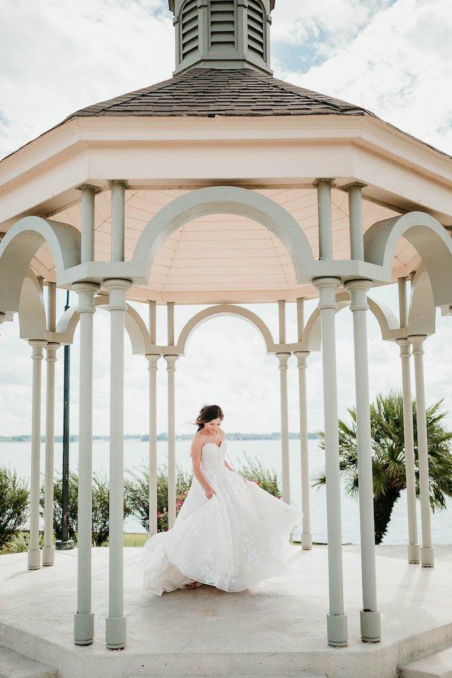 outdoor, ceremony, gazebo, garden, versatile, water views, waterfront weddings, bentwater yacht & country club