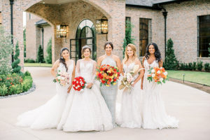 5 Elegant Bridal Styles By Blush Hair & Makeup Artistry