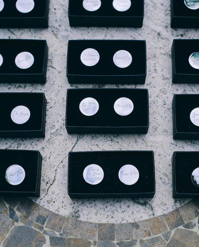 grooms gifts, groomsmen, custom cufflinks, engraved