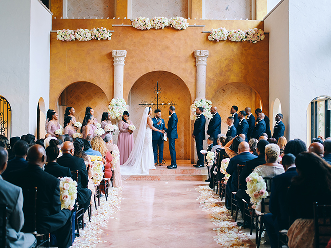 on site chapel, italian villa, plants n petals, ceremony decor, garden inspired wedding, wedding venue, the bell tower on 34th, wedding, photography, houston, photographer, civic photos