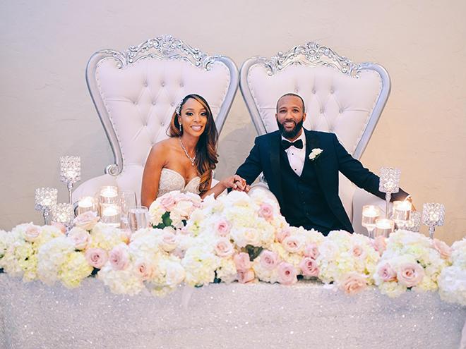 his her table, floral decor, flowers, florist, houston, plants n petals, civic photos, bride, groom