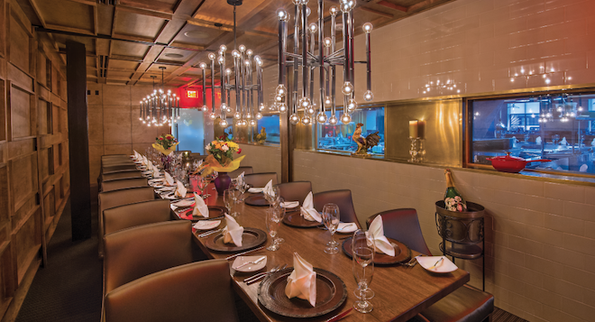 rehearsal dinner, venue, location, midtown, french, sophisticated, elegant, private dining rooms